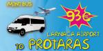 Minibus From Larnaca Airport To Protaras