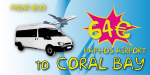 Minibus From Paphos Airport To Coral Bay