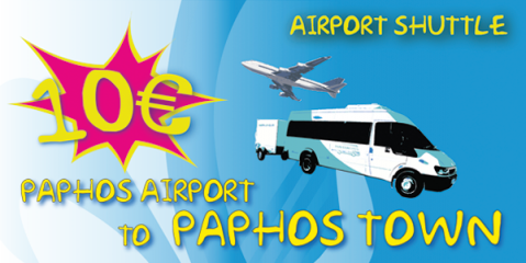 Shuttle From Paphos Airport To Paphos Town