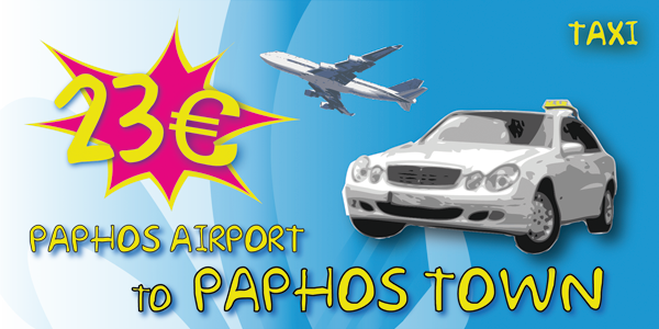 Taxi From Paphos Airport To Paphos Town